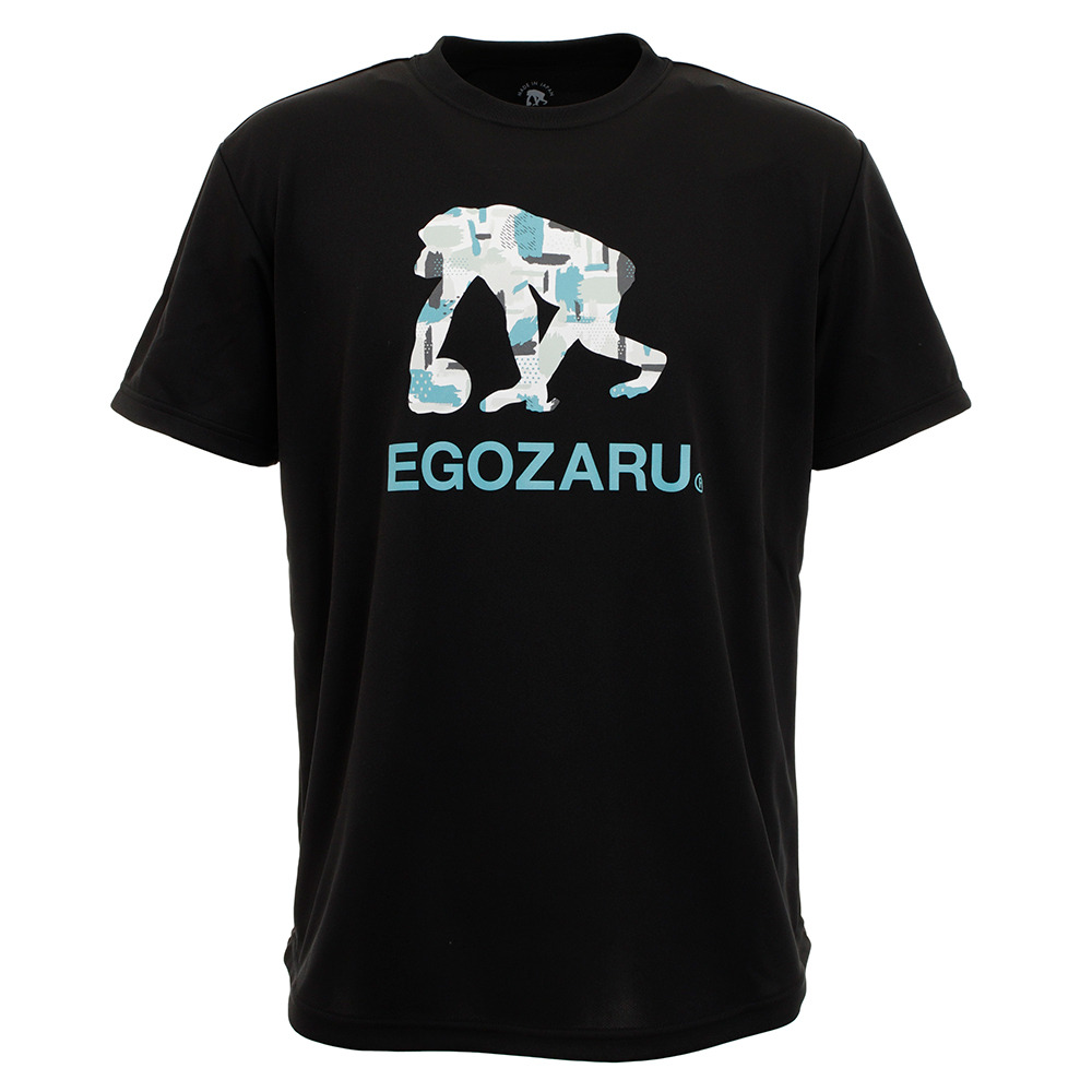 Tシャツ メンズ GOUACHE ロゴ半袖Tシャツ EZST-2004-012